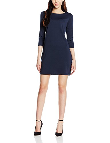 Vila Vitinny New Dress - Vestido Mujer Azul (Total Eclipse)