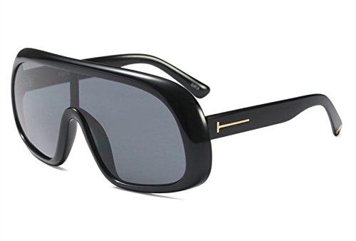 Modebox Menschen Coole Wellen Verbunden Reflektierende Sonnenbrille Ultra,Grey
