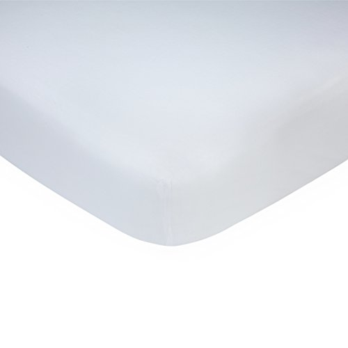 Carter's Solid White Cotton Knit Crib Sheet - 52