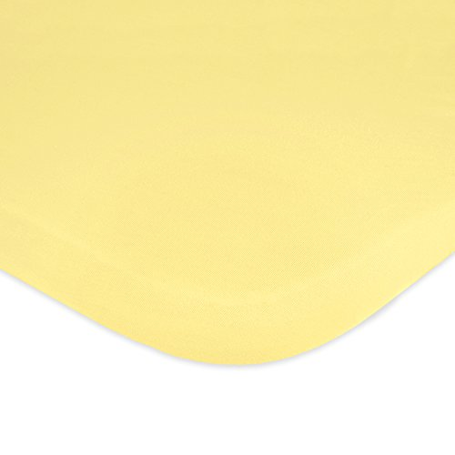 Carters Jersey Fitted Bassinet Yellow product image