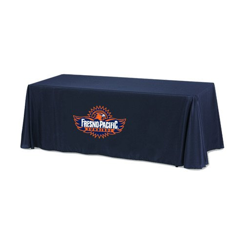 Fresno Pacific Navy 6 foot Table Throw 'Official Logo' by CollegeFanGear
