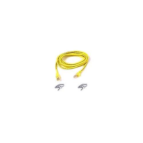 BELKIN cat5e 6ft yellow patch cord A3L791-06-YLW