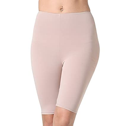 Adira Women's Fat Burning Thigh Shaper/Waist Shaper/Body Shapewear for Women/Slim Silhouette Shaper/Slimming Tights Beige Shaping Bodysuits at amazon
