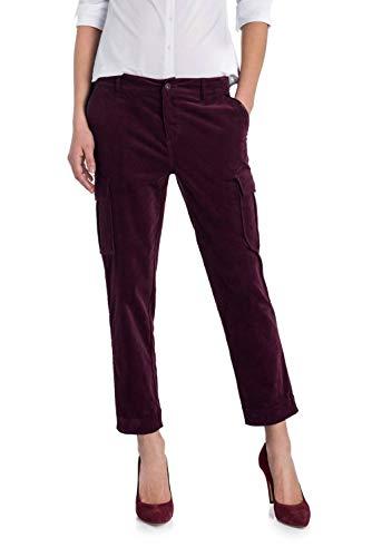 Salsa Con Pantaloni Laterali Rosa Colorati Tasche rzrOwTPWq