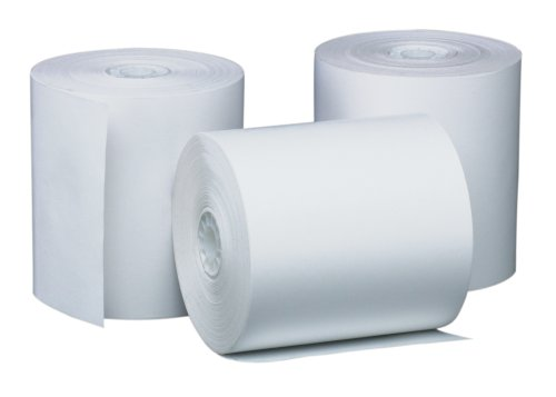 (PM Company Perfection POS/Black Image Thermal Rolls, 3.12 Inches x 220 Feet, White, 50/Carton (05220))