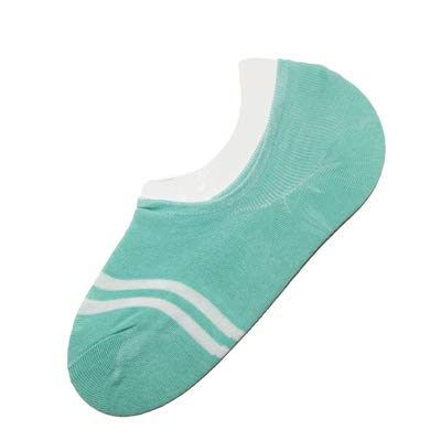 DHmart 3Pairs Summer Striped Socks Women Female Low Cut No Show Ankle Socks Ladies Boat Socks