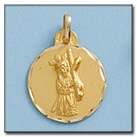 Médaille D'or 18kt Gran Poder. Diamètre 19mm