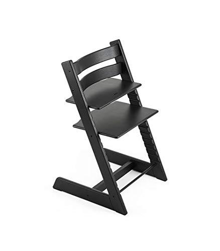 Stokke Tripp Trapp Chair Oak, Black (Stokke High Chair Cushion)