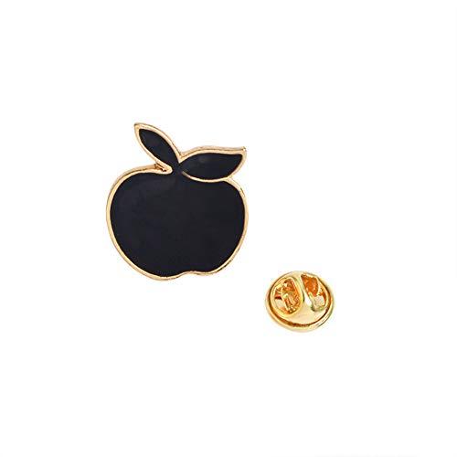 Wansan Brooch Cute Enamel Lapel Pins Cartoon Apple BroochPin Party Valentine Brooch Collar Jewelry Gift