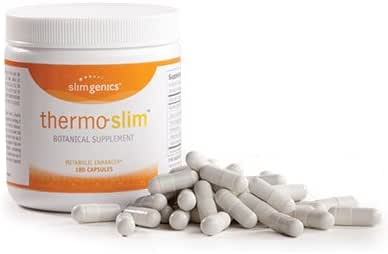 SlimGenics Thermo-Slim ™ | Herbal Metabolizer & Fat Burner Pills - Suppress Appetite, Reduce Water Retention and Decrease Cravings, Cleanse & Detoxify - Supports Liver and Kidney Function -180 ct