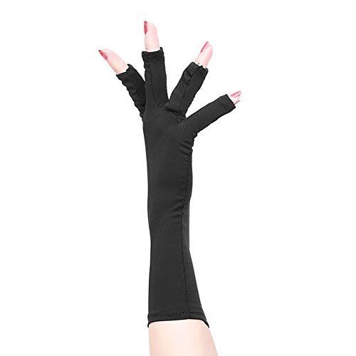 Protection Gloves Open Toed Manicure Dryer