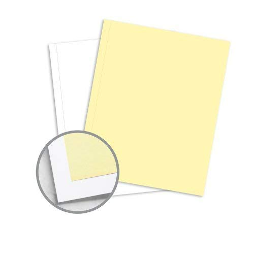 NCR Paper* Brand Superior Perf Multi-Colored Carbonless Paper - 9 x 11 in 20.5 lb Writing Precollated 2-Part RS Canary, White Perforated on Side 500 per Ream