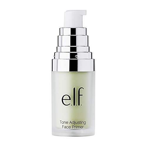e.l.f, Tone Adjusting Face Primer – Small, Lightweight, Long Lasting, Silky, Smooth, Neutralizes Uneven Skin Tones and…