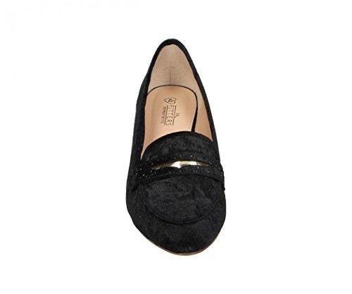 Velvet Bis Footwear Schwarz 42 45 Schuhe Alena Übergröße Ballerinas Fitters Schuhgrößen Damenschuhe In WYqwppPR