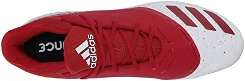 adidas Women's Icon V Bounce W Sneaker, Power red/Glow Blue, 7 M US