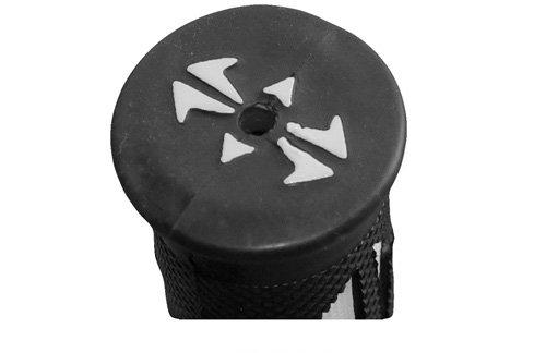 Yana Shiki GRP-4086-ORANGE Rubber Slip-on Grips for 7//8 Handle Bars