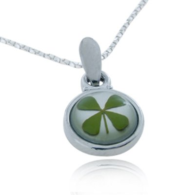 Stainless Steel Real Irish Four (4) Leaf - Shamrock Four Leaf Clover Shopping Results
