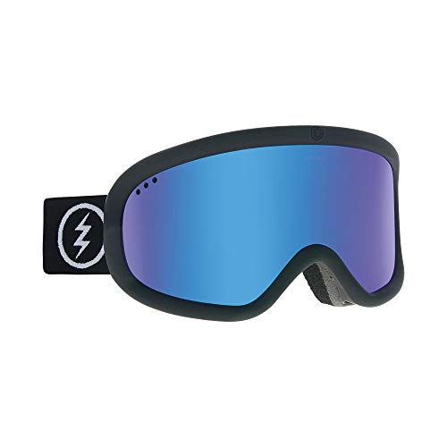 Electric Charger Ski Goggles, Matte Black/Brose/Blue Chrome