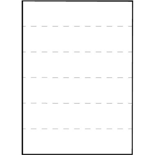 Tabbies File Folder End Tab Converter Extenda Strip, 3 1/4 x 9 1/2, White - 55993