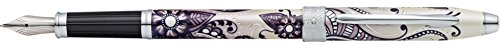 Cross Botanica, Black Primrose, Fountain Pen with Medium Stainless Steel Nib (AT0646-5MS)
