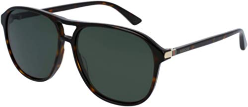 Gucci GG0016S 007 Havana 0016S Round Sunglasses Polarised Lens Category 3 Size ()