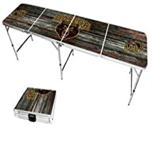Baylor University Bears Tailgate Table, 8 Foot Party Table, Aluminum Frame, Design # 9