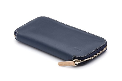 Bellroy Leather Carry Out Wallet Blue Steel