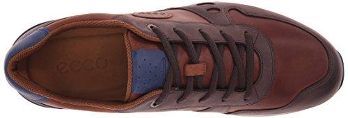 Ecco ECCO CS14 MEN'S - zapatilla deportiva de cuero hombre Marrón (MOCHA/MAHOGANY59379)
