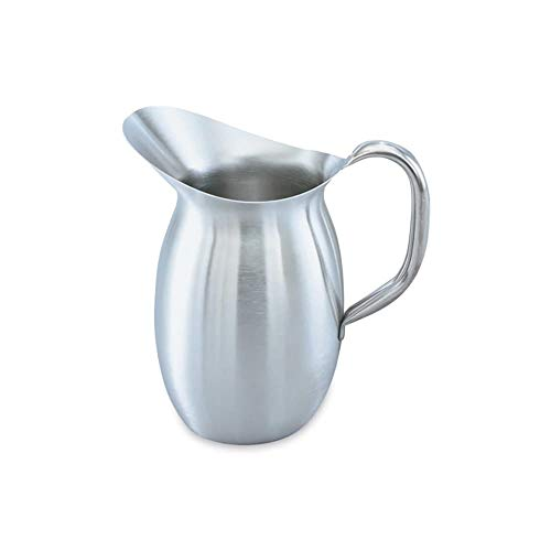- Vollrath 82040 4-1/8-qt Bell-Shaped Pitcher - Stainless