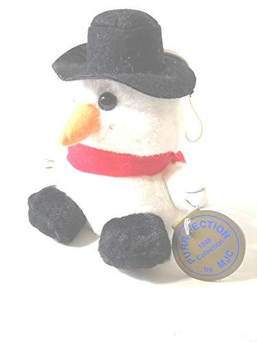 MJC Avalanche Snowman Cushy Critter ()