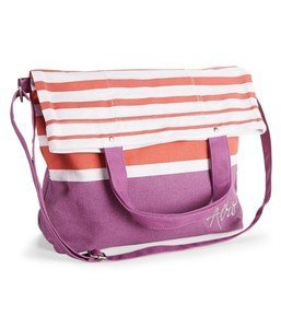 Aeropostale Striped Fold-Over Tote Bag Retail: $39.50 by Aeropostale