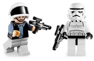 Rebel Trooper & Stormtrooper - LEGO Star Wars Figures