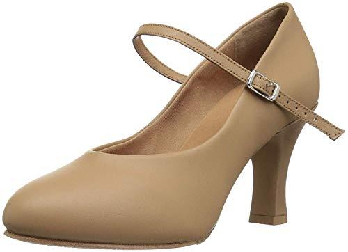 Broadway Shoes (Bloch Dance Women's Broadway Hi Dance Shoe tan 7.5 Medium US)