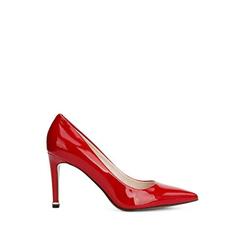Kenneth Cole New York Women's Riley 85 MM Pump, red Patent, 8.5 M US ()