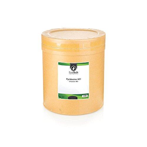 Pyridoxine HCl (Vitamin B6) 25kg (55lbs) by PureBulk