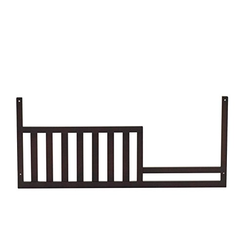 Baby Cache Melbourne Toddler Guard Rail - Espresso by Baby Cache