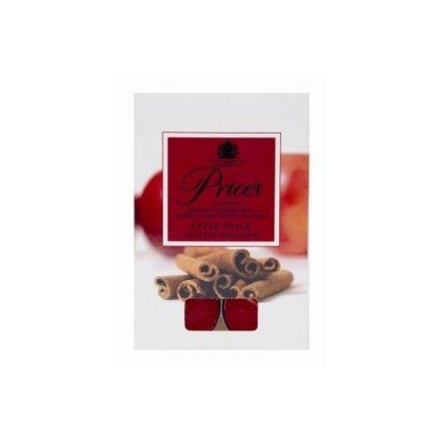 Price candle PXC010620 color rojo aroma a manzana y especias Velas de t/é perfumadas