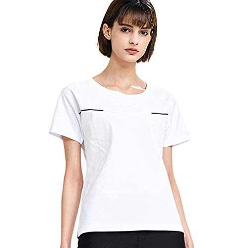 - FOOXMET Women's Color Changing Tech T-Shirt Instant Cooling Tee Crew Neck Short Sleeve Top Quick Drying Shirts for Women White XL