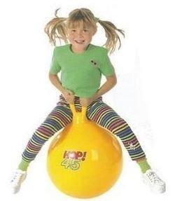Gymnic HOP 45 Yellow Exercise Ball - Gymnic Hop Ball