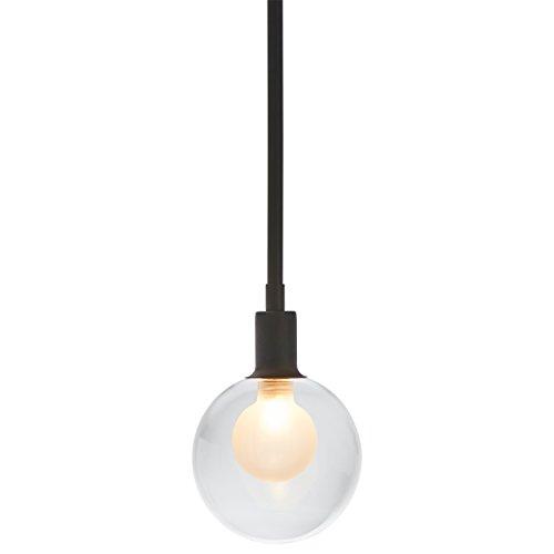 Black Globe Pendant Light in US - 2