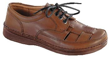 Footprints bodega chaussures cousues main chestnut leather Étroit