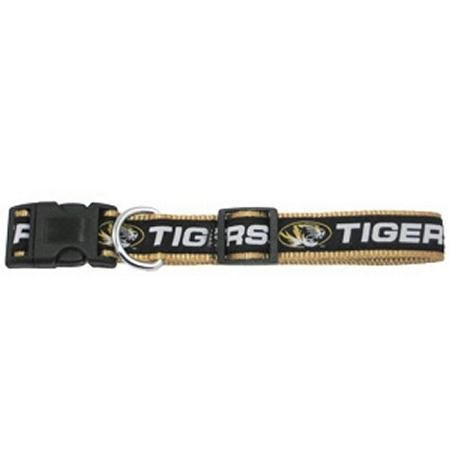 Mirage Pet Products Missouri Tigers Collar for Dogs and Cats, Medium