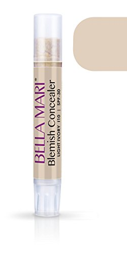 Bella Mari Natural Blemish Concealer Stick, Light Ivory; 0.1floz