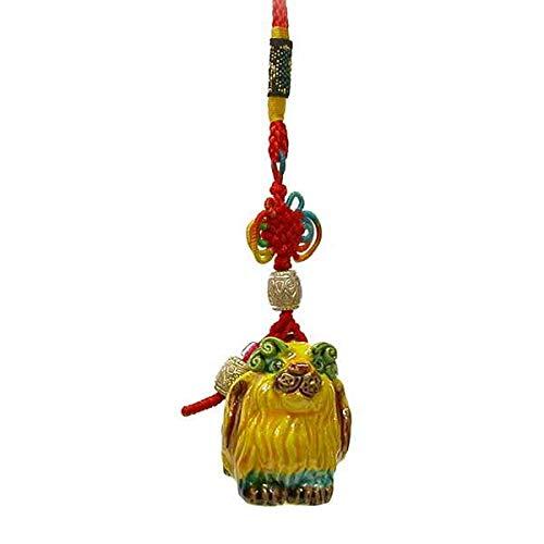T-Trove Chinese Zodiac Dog Tassel Hanging Art