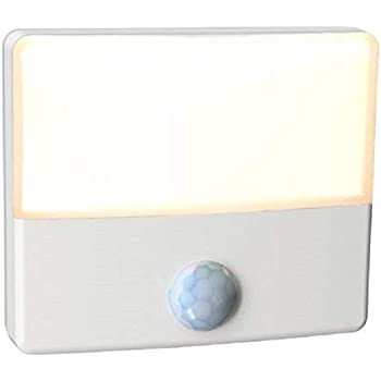 a3aa05a64a65 Westek Motion Sensor Night Light by Amertac, 1 Pack - Premium LED Plug-in Night  Light Detects Motion & Lights Dark Areas - Auto Dusk to Dawn/Motion Detector  ...