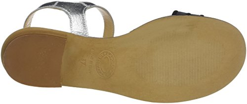 Argento Back 010 Piu Tamy Argent Donna Women's Sandals Sling Fumo H47PAxq