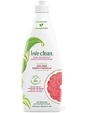 Live Clean Dish Soap 740 milliliter