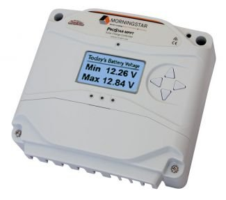 Morningstar Prostar 25-amp-MPPT Charge Controller with Meter - PS-MPPT-25-M