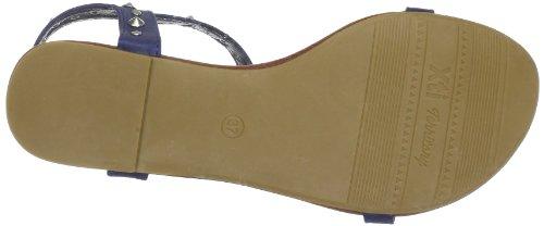 XTI Woman Sandal XTI25940 SP13 - Sandalias de vestir para mujer azul - Blau (navy X5)