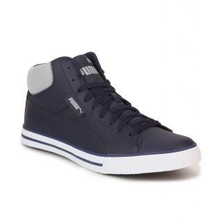 526b49f5482662 Puma Men s Navy Synthetic Cotton Sneaker -11  Buy Online at Low ...